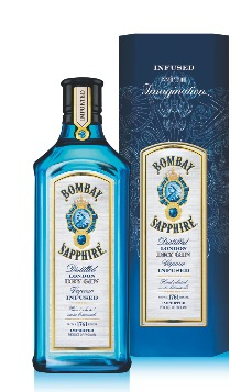 Bombay Sapphire blue edition
